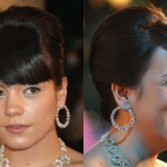 Lilly allen cortes de pelo de celebridades retro