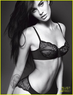 Megan Fox para Armani 2010