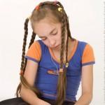 Peinados para niñas 2009 pelo largo 11
