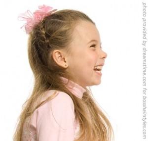 Peinados para niñas 2009 pelo largo