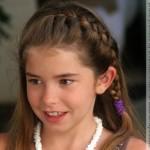 Peinados para niñas 2009 pelo largo 9