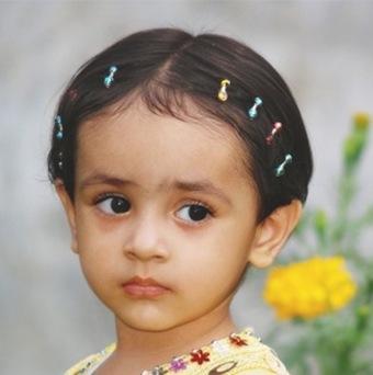 Peinados de fiesta 2009 para niñas 5