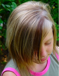Peinados niñas 2009 pelo corto y largo 17
