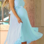 Vestidos de noche elegantes para embarazadas 7