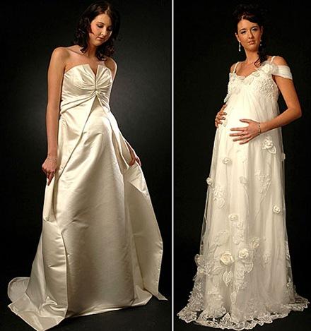 Vestidos de fiesta para embarazadas 2