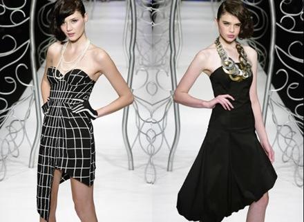 Vestidos negros para fiestas 2010