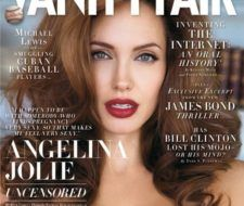 El estilo de Angelina Jolie en Vanity Fair de julio de 2008