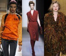 Los colores de moda para la temporada otoño invierno 2008 – 2009
