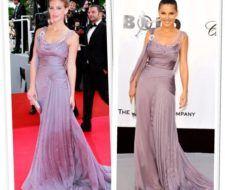 Bar Refaeli y Elsa Pataky ¿Quién lleva mejor el vestido de Alberta Ferreti?