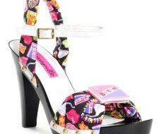 Zapatos con tacos Vanecia, muy coloridos