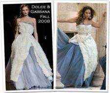 Jennifer Lopez y sus diferentes vestidos para una sesión fotográfica