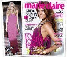 Eva Mendes en portada de Marie Claire US