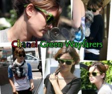 Chanel Wayfarer Verde: La obsesión de Rachel Bilson y de Lily Allen