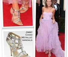 Los mejores zapatos de la alfombra roja de los Globos de Oro 2009