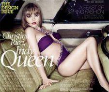 Christina Ricci en la portada de Blackbook Magazine – Mayo 2008