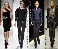 Últimas tendencias de moda otoño invierno 2008 – 2009: el color negro y los colores impactantes