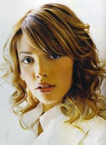 cortes de cabello y peinados para cabello ondeado femenino