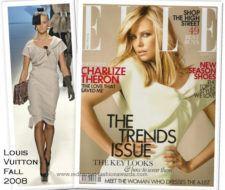 Charlize Theron para la revista Elle UK