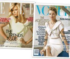 Charlize Theron vs. Kate Moss por un Louis Vuitton