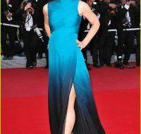 Evangeline Lilly deslumbra en la alfombra roja de Cannes 2009