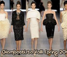 Nueva Colección Giambattista Valli Primavera 2009