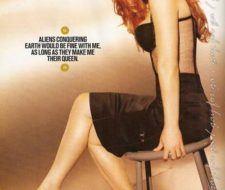 Gillian Anderson exhibe su belleza en Maxim