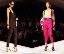 Moda 2009 vestidos y ropa estilo retro vintage, la tendencia en las pasarelas