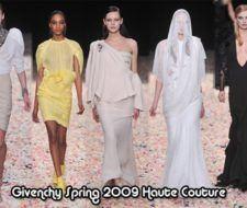 Nueva Colección Givenchy Primavera 2009 Alta Costura