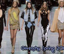 Tendencia moda nueva colección Givenchy primavera verano 2009