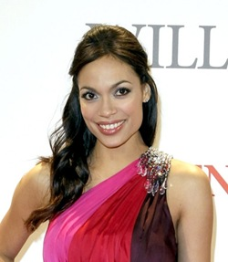 BERLIN - JANUARY 06:  Actress Rosario Dawson attends the german premiere of 'Seven Pounds' at the CineStar on January 6, 2009 in Berlin, Germany.  (Photo by Florian Seefried/Getty Images)