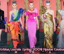 Nueva Colección Christian Lacroix Primavera 2009 Alta Costura