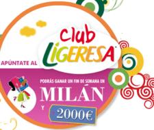 Moda en Milán con el Club Ligeresa