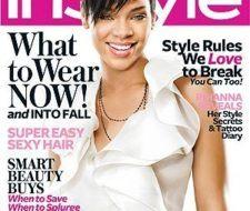 Rihanna portada de la revista In Style