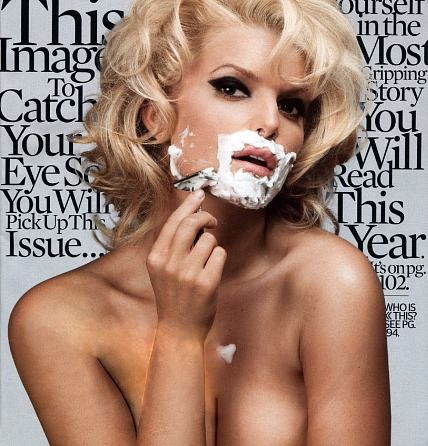 jessica simpson esquire magazine