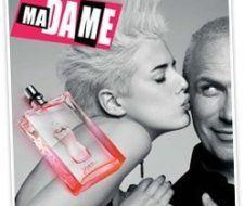 Agynes Deyn es el rostro de la fragancia Ma Dame de Jean Paul Gaultier