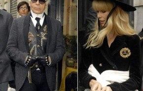 Claudia Schiffer para Chanel Primavera 2010