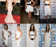 La obsesión de Kate Beckinsale: los vestidos blancos