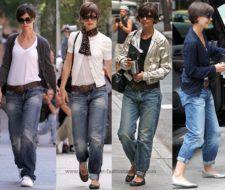 Nueva Moda: Los pantalones anchos de Katie Holmes