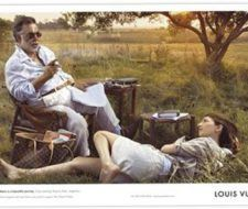 Campaña publicitaria de Louis Vuitton con los Coppola