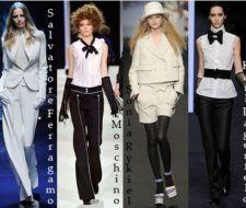Últimas tendencias de moda otoño invierno 2008 – 2009: tendencia neo masculina y formas arquitectónicas