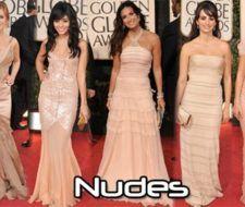 El color de moda de la alfombra roja de los Globos de Oro 2009