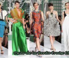 Colección Crucero 2009 de Oscar de La Renta