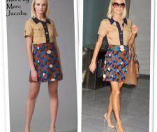 Paris Hilton en una creación de Marc Jacobs