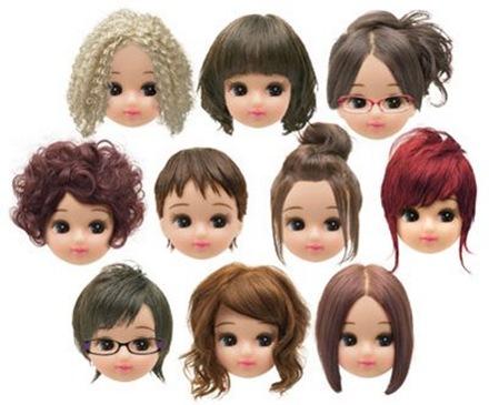 peinados para niñas 2009 - 2010