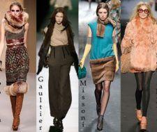 Últimas tendencias de moda otoño invierno 2008 – 2009: pieles y encajes