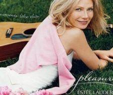 Gwyneth Paltrow en la campaña de la fragancia Pleasures de Estee Lauder