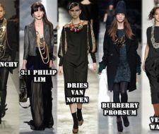 Nueva Moda Otoño Invierno: los collares grandes