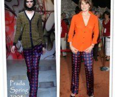 Sigourney Weaver en Prada Primavera 2008