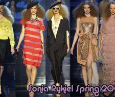 Nueva Colección de modas Sonia Rykiel Primavera 2009