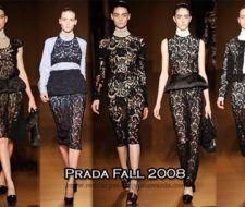 Tendencia moda otoño invierno 2008 -2009: los encajes